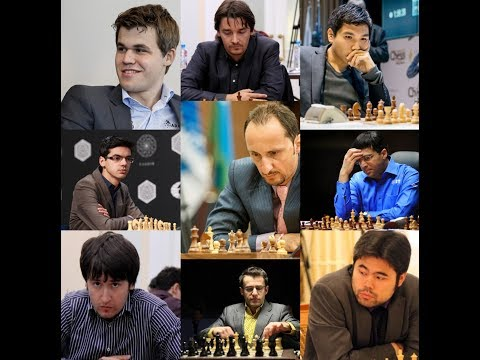Top 20 Chess Players of All Time(by Elo Ratings)