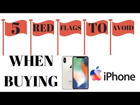 Five RED FLAGS to avoid when buying iphone or phone flipping