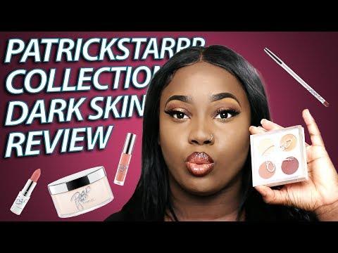 PatrickStarrr Makeup Collection DARK SKIN REVIEW (Honest Review)