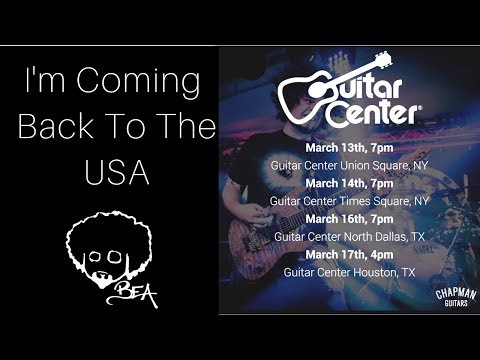I'm Coming Back To The USA | Chapman Guitars & Guitar Center
