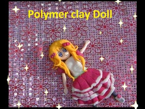 Polymer Clay Anime Doll Figure DIY Tutorial