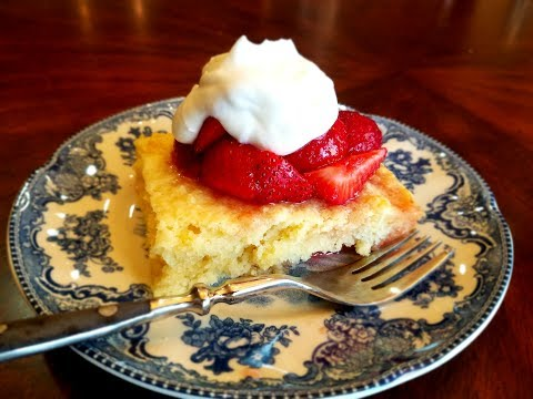 💖 Easy Strawberry Shortcake RECIPE for 4th of July ( Fourth Of July RECIPES Ideas )