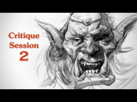 Critique Session 2 - Creature Concept