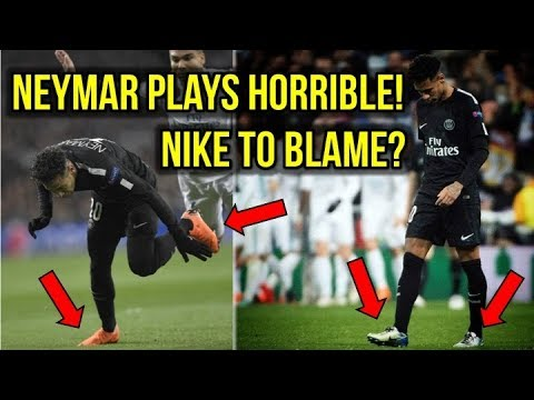 HERE'S WHY NIKE IS TO BLAME FOR NEYMAR'S POOR PERFORMANCE!