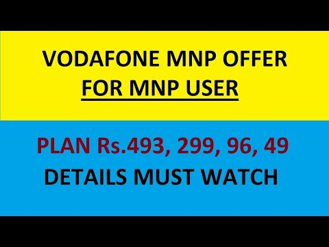 Just Join Vodafone and get exciting offer I only for MNP user # Bengal User