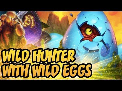 Hearthstone: Wild Hunter With Wild Eggs