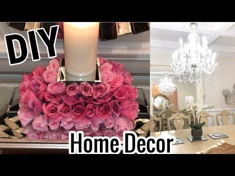 DIY Home Decor Ideas 2018 | Dollar Tree DIY Mirror Decor