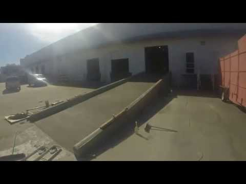 Concrete Wall Opening Cut & Ramp Pour By Maxter Enterprises