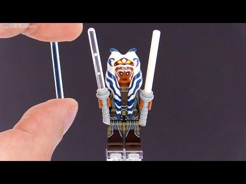 LEGO Star Wars: Rebels Ahsoka lightsaber blade options