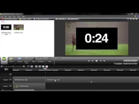 How to add stopwatch timer to video Tutorial