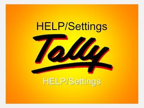 Tally Help