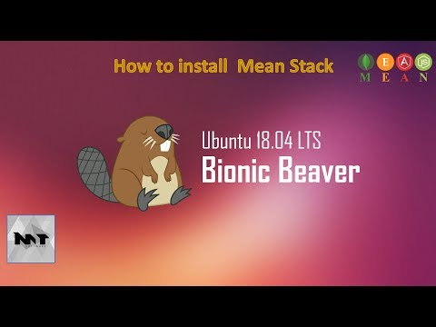How to Install Mean Stack on Ubuntu 18.04
