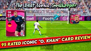 OMG!!! Iconic Moment O.KHAN 95 Rated 🔥🔥 Review a Beast Goalkeeper    PES20 MOBILE