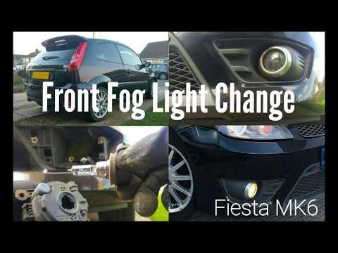 Front Fog Light Change - Ford Fiesta MK6