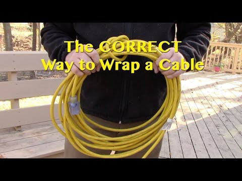 How to Properly Wrap a Cable