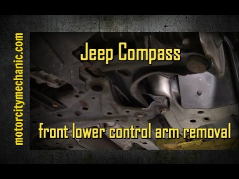 2008 Jeep Compass front lower control arm replacement