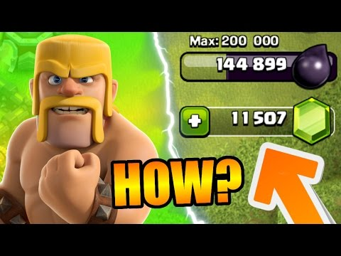 Clash Of Clans - GET FREE GEMS IN TIME FOR THE UPDATE!! - NEW METHOD FOR GEMS IN CoC 2016!
