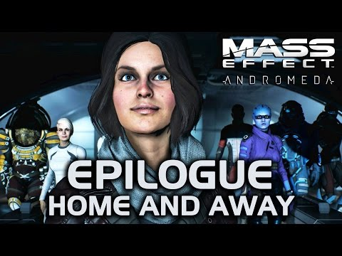 Mass Effect Andromeda - Epilogue: Home and Away (All Crew Back in Action)