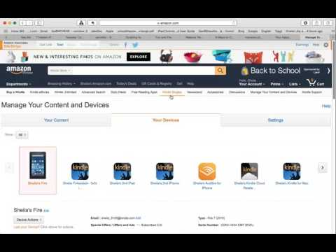 How to Find Your Kindle Email Address to Upload Mobi Files