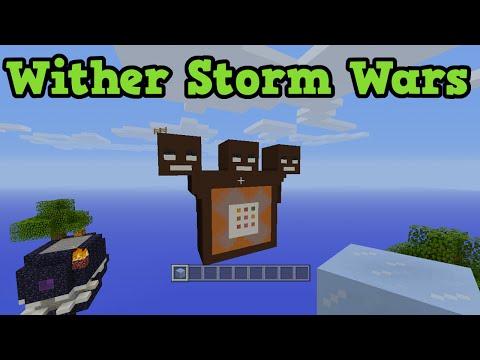 Minecraft Xbox 360 Sky Wars - TU31 / Wither Storm  Map