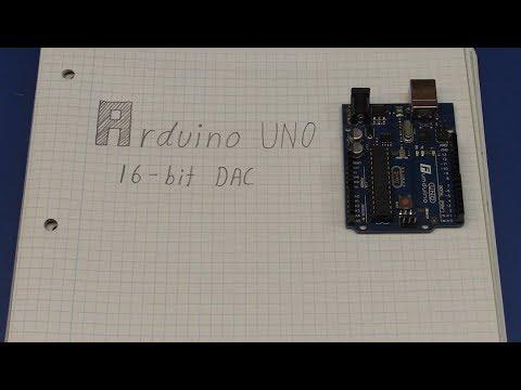 16-Bit DAC / PWM on Arduino UNO - Ec-Projects