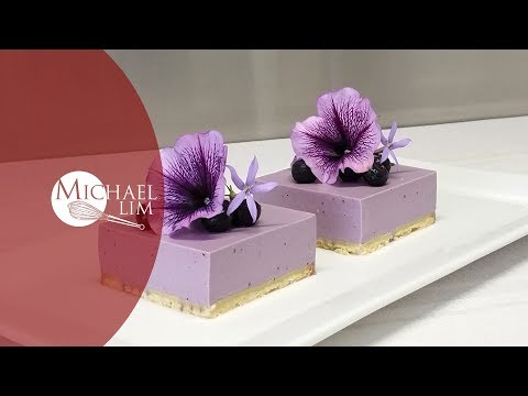 Chilled Blueberry Cheese Cake - Easy Recipe