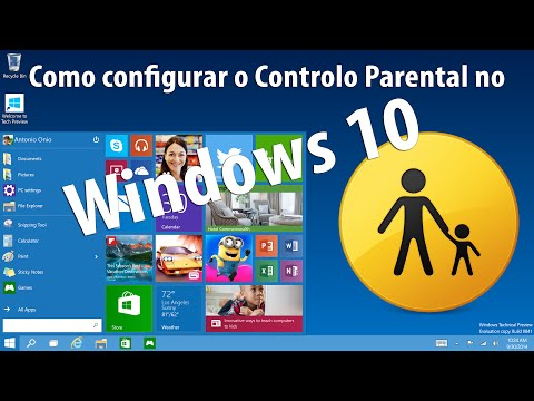 How to configure Parental Controls in Windows 10 (PT)