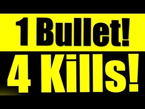 COD - MW3 QUAD Quick-Scope! 1 Bullet 4 Kills!