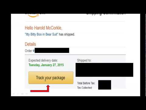 How To Get The Tracking Number From Amazon To Use On Ebay