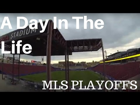A Day In the Life of a Pro: MLS Playoffs
