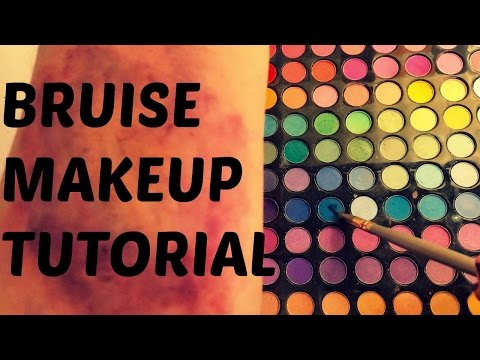 BRUISE MAKEUP TUTORIAL⎮Anette Kathrin