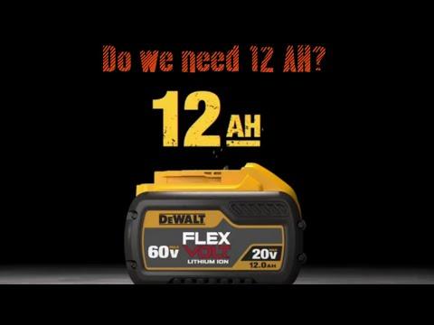 Dewalt announces 12 AH battery!