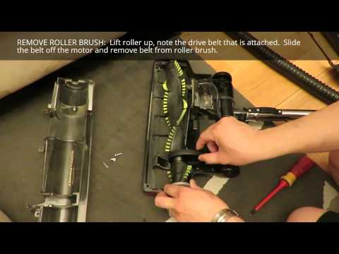 How to Replace WindTunnel Power Nozzle Drive Belt