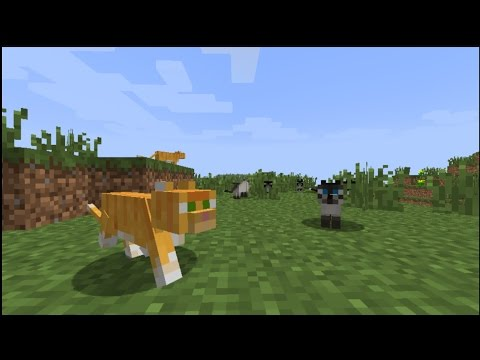 Minecraft Xbox One Edition Ep 8 A Railroad Entrance and Finding a Ocelots!
