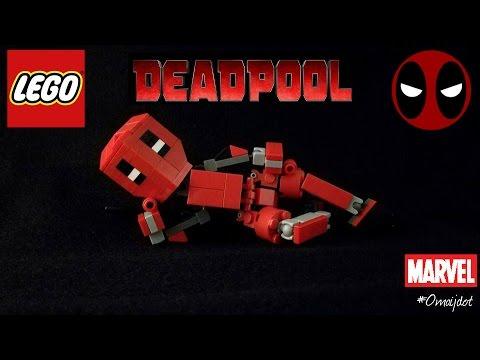 How to build a Lego Deadpool
