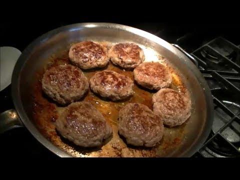 BBQ Sauce Burgers