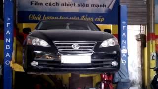 Trung Tu Ô Tô Lexus, Thay Rotuyne Lái Lexus 350, Bảo Dưỡng 2 Phanh đĩa Bánh Trước Lexus