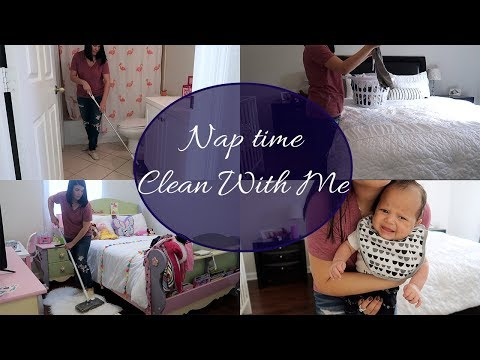 Nap time Clean With Me! | Cleaning Motivation