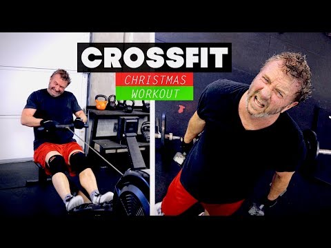 DR. PAUL SURVIVES A CROSSFIT CHRISTMAS WORKOUT (with his wife & kids)