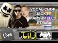 Jack Ü / Marshmello Style: Melody-Vocal Chop | Ableton Tutorial (FREE PROJECT DOWNLOAD)
