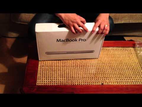 mac book pro unboxing Arabic language