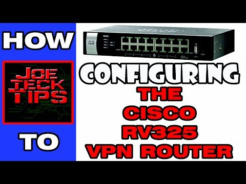 Configuring the RV 325 VPN Router - Explained