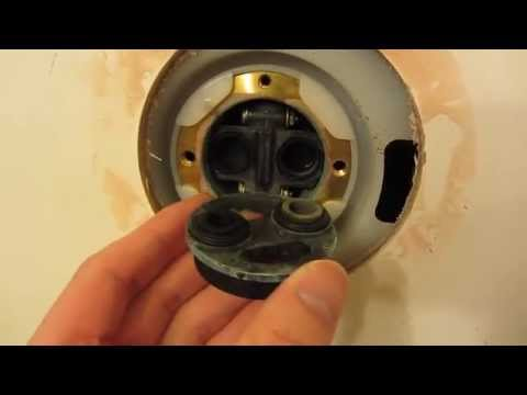 Kohler Shower Repair in HD Part 1 - Detailed View of Fixture Problems