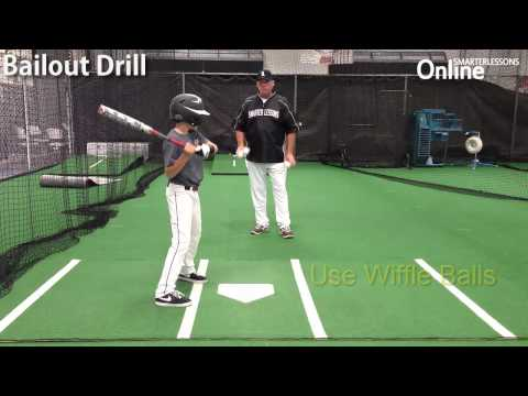 How to avoid stepping out in baseball