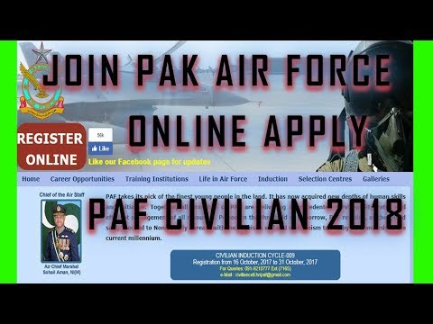 Pakistan Air Force Jobs - Join PAF jobs full details