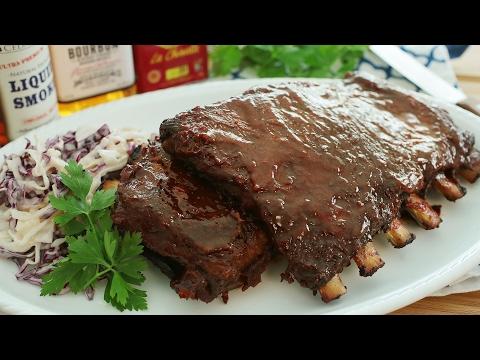 Bourbon BBQ Pork Ribs