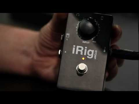 iRig Stomp - The first stompbox guitar interface for iPhone/iPod touch/iPad - Winter NAMM 2012