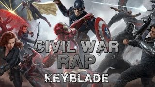 Download CIVIL WAR RAP - #TeamCap vs #TeamIronMan | Keyblade Video