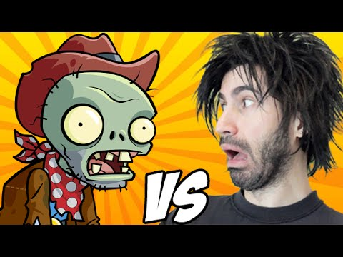 PLANTS VS ZOMBIES vs The World's Worst Gamer!