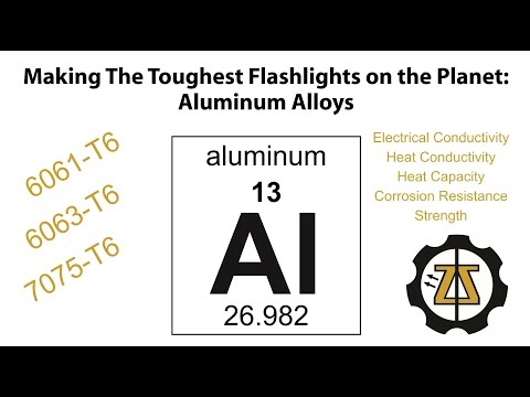 Aluminum Alloys in Tactical Flashlights; Not All Aluminum Is Created Equal, Elzetta vlog episode 8